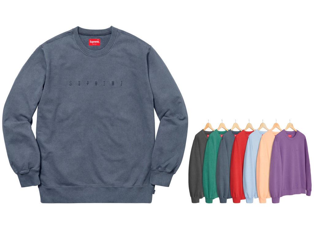 Overdyed Crewneck Sweatshirt