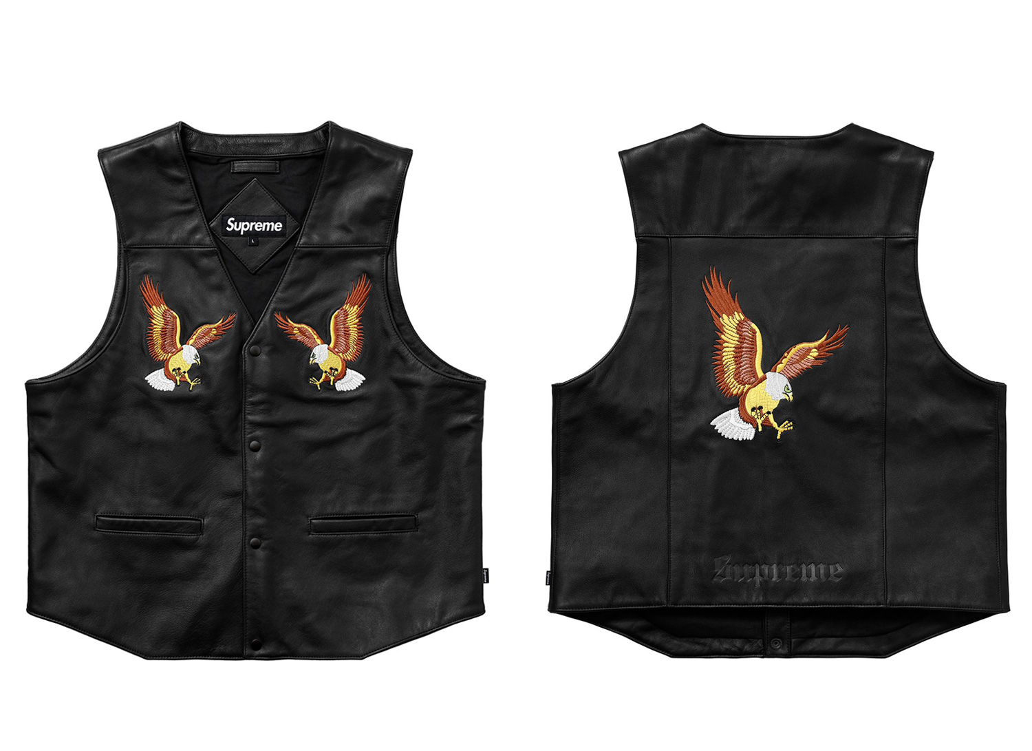 Eagle Leather Vest