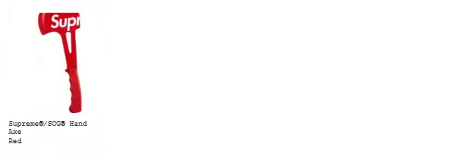 Supreme シュプリーム 18ss week18 オンライン配置 アクセサリー