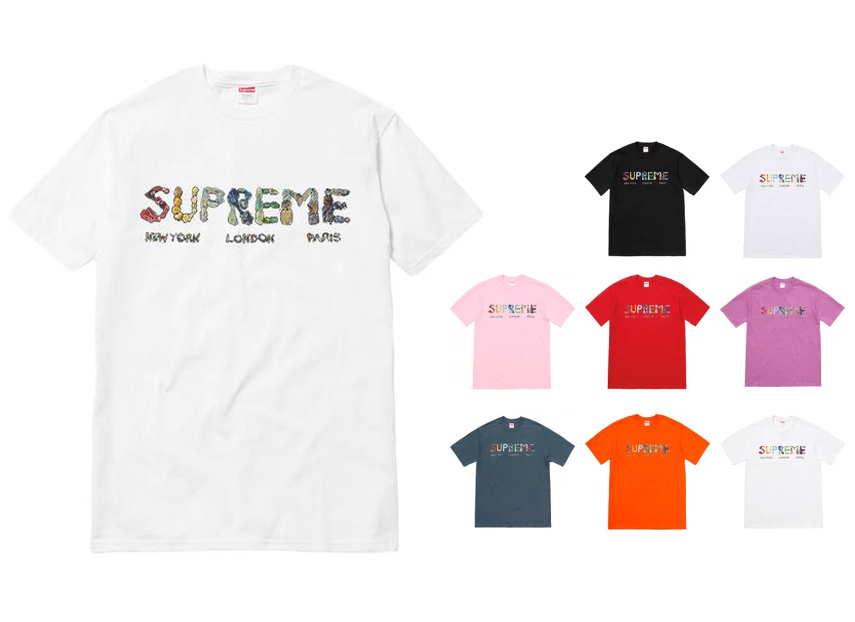 Supreme シュプリーム 18ss week19 Rocks Tee