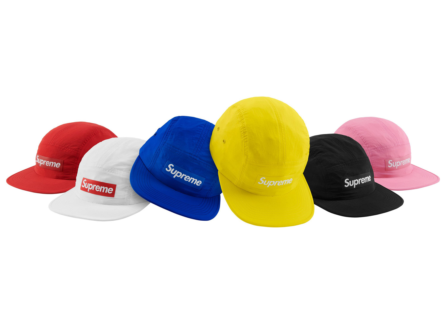 Raised Logo Patch Camp Cap