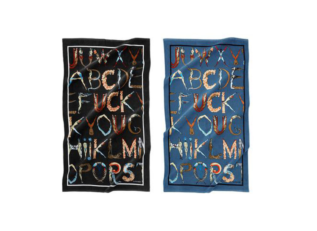 Alphabet Beach Towel
