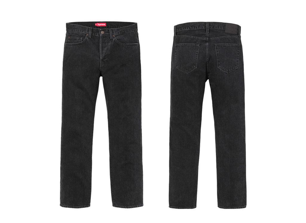 Stone Washed Black Slim Jean