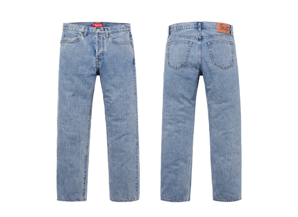 Stone Washed Slim Jean