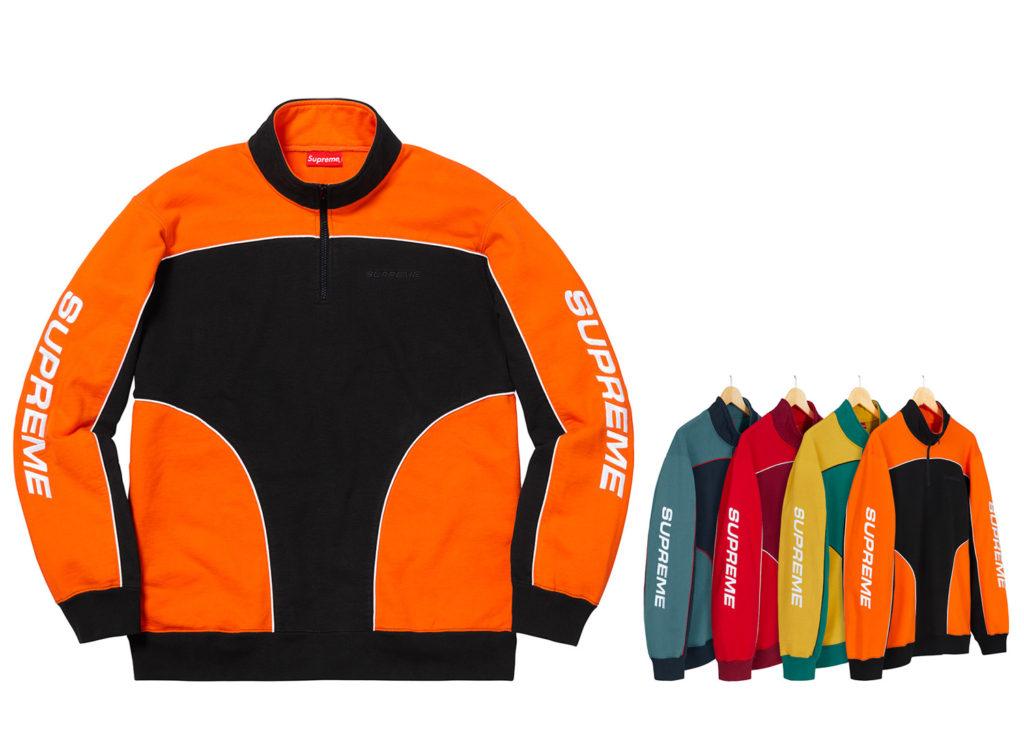 Speedway Half Zip Sweatshirt