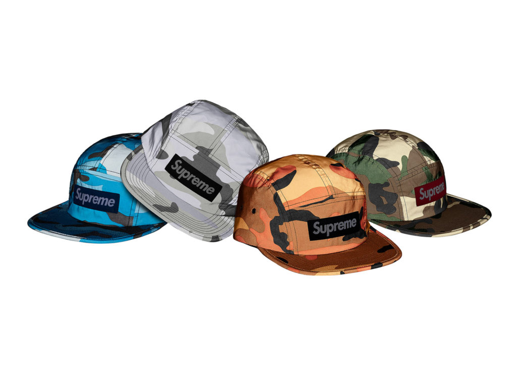 Reflective Camo Camp Cap