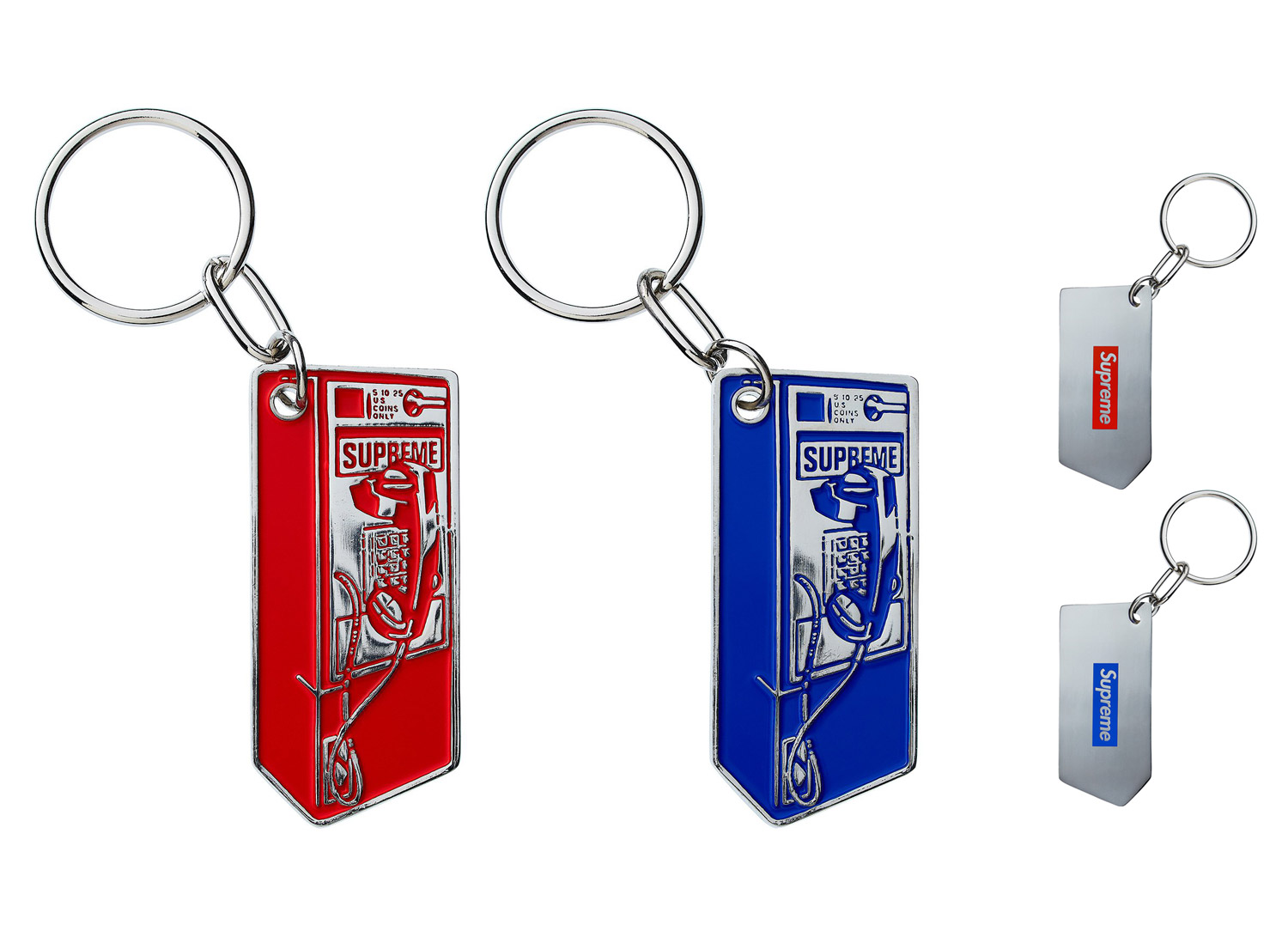 Phone Booth Keychain