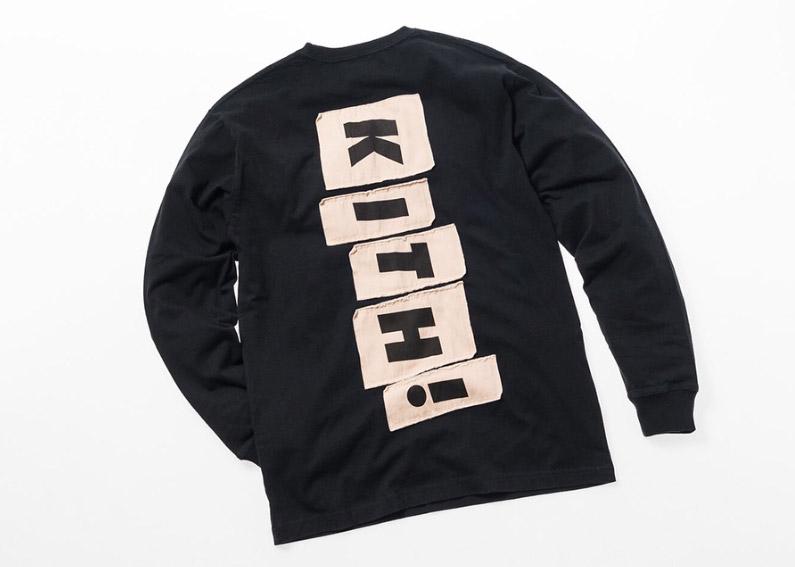 kith monday program 8/27 ロゴ ロングスリーブTシャツ