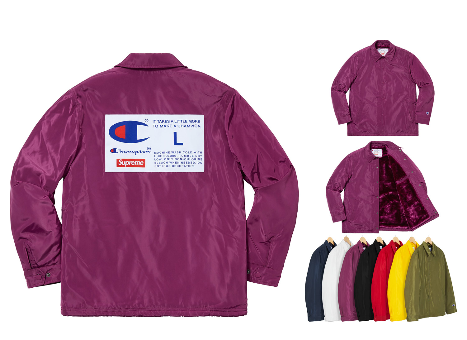 Champion® Label Coaches Jacket