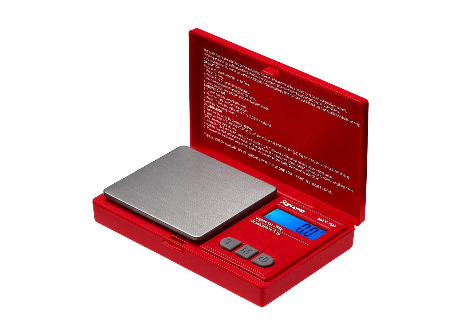 Supreme®/AWS® MAX-700 Digital Scale