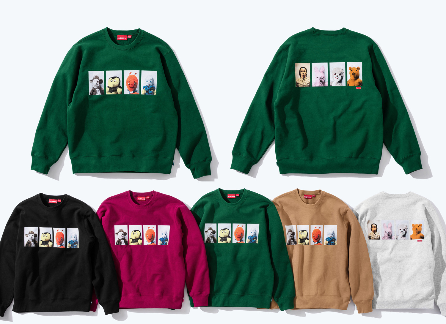 Mike Kelley/Supreme Ahh Youth Crewneck