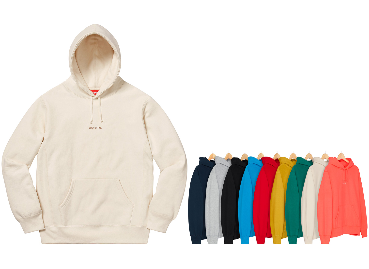 Supreme シュプリーム 18fw week3 Trademark Hooded Sweatshirt