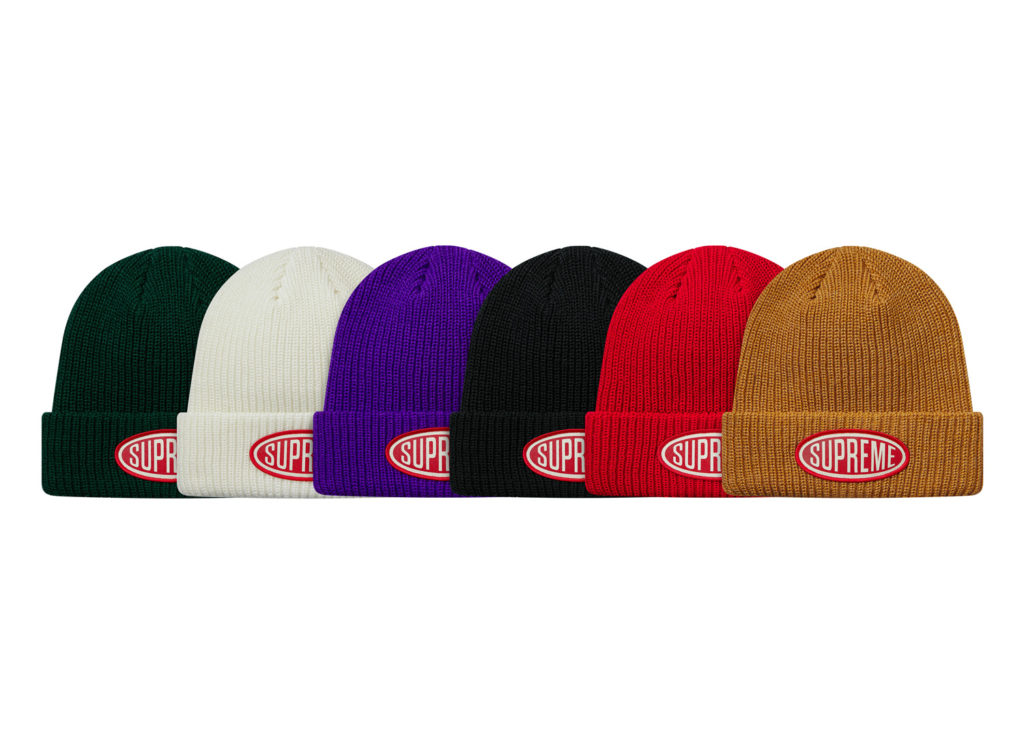Oval Patch Beanie