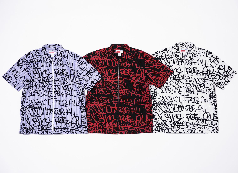 Supreme®/Comme des Garçons SHIRT® Cotton Graphic S/S Shirt