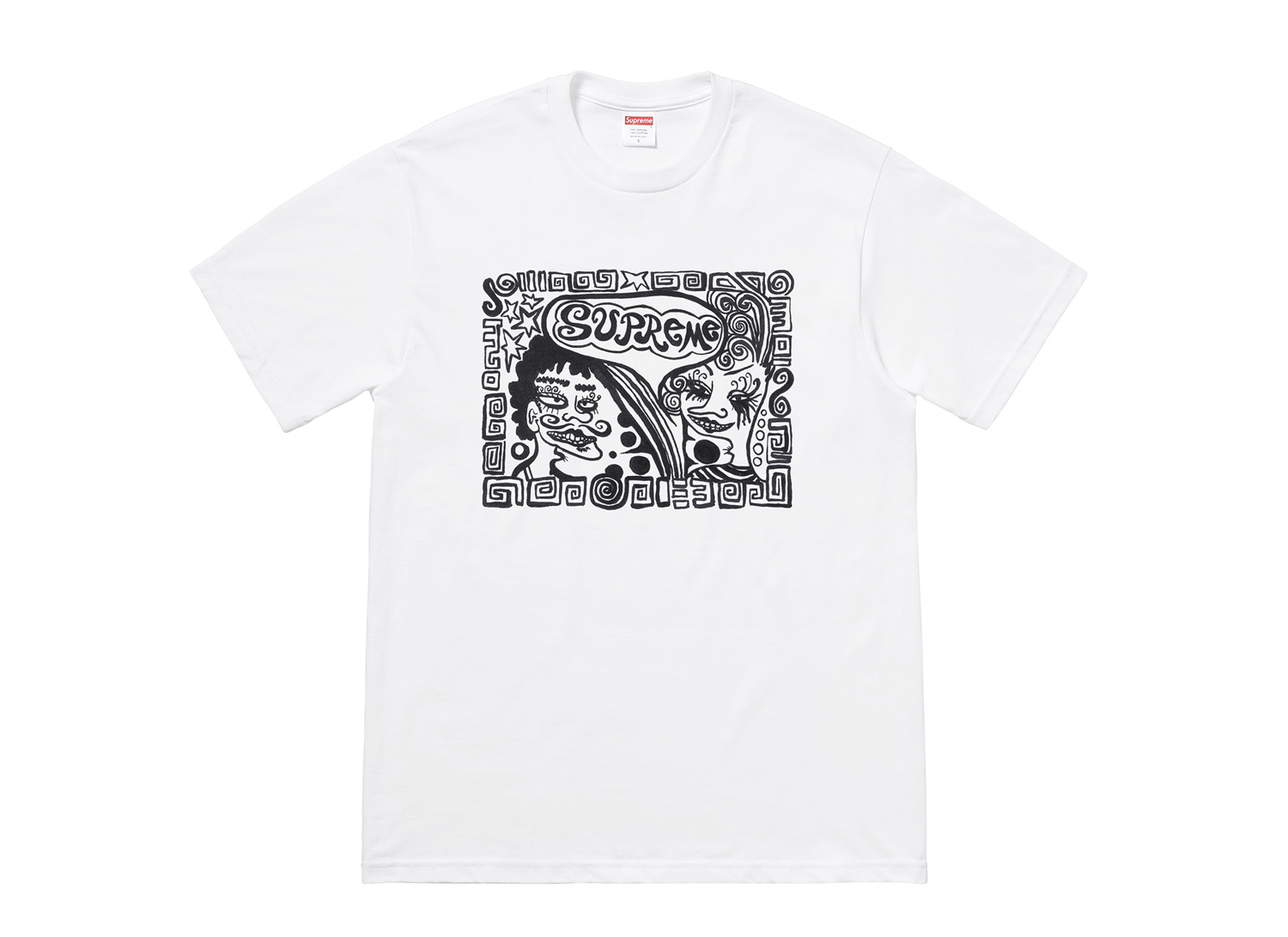 "Tabboo! for Supreme ""Faces Tee"""