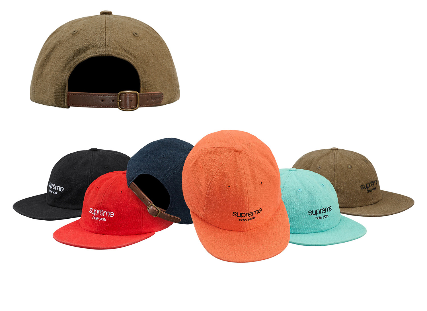 Napped Canvas Classic Logo 6-Panel
