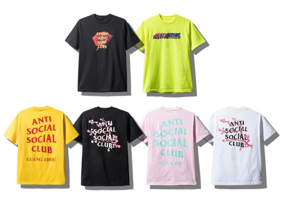 【9/15発売】Anti Social Social Club(ASSC) アジアコレクション 2018FW Tシャツ