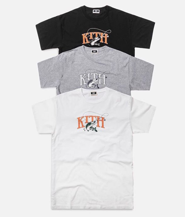 kith monday program 9/24 FISHING Tシャツ