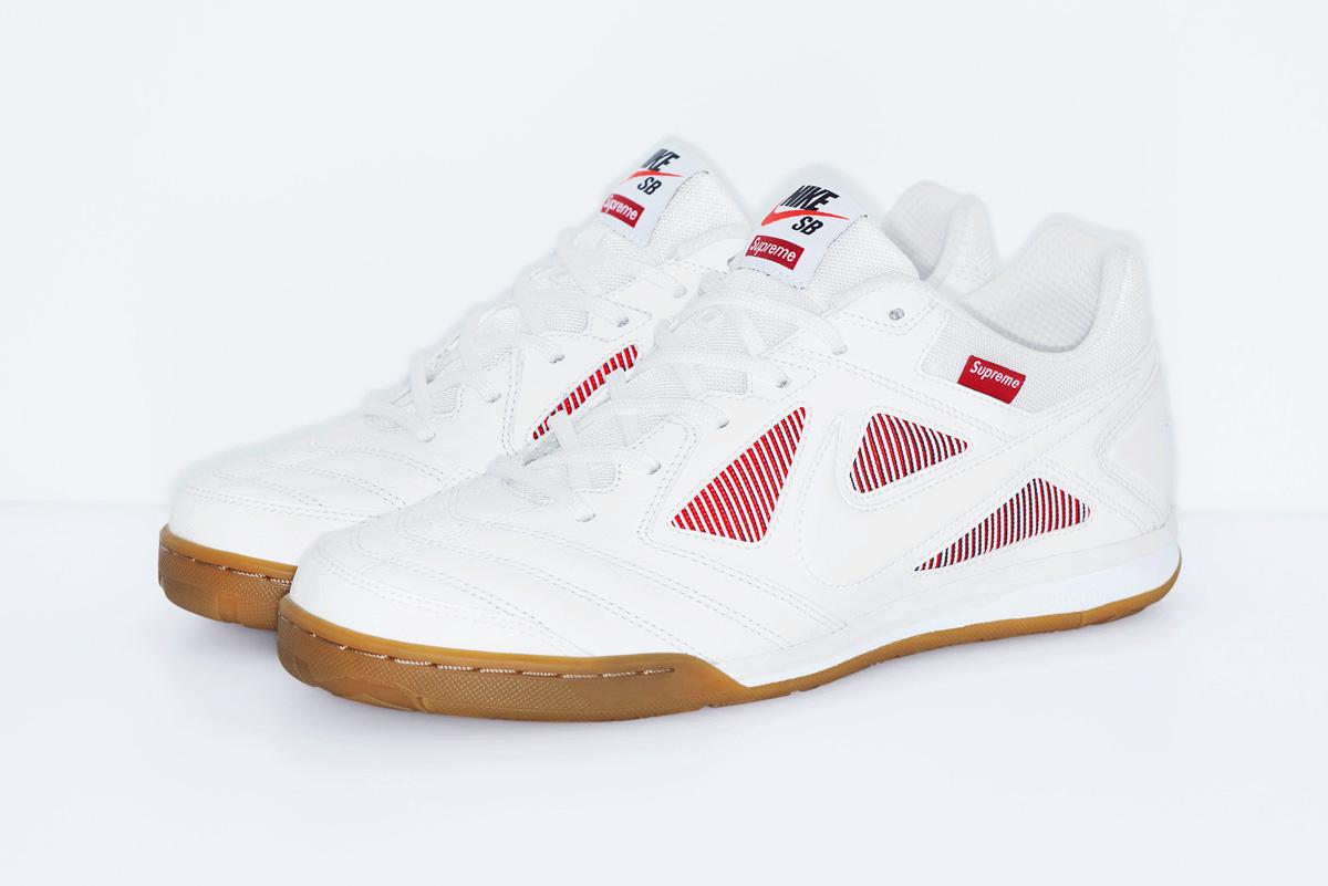 """【9/7発売】SNKRSにて""""Supreme®/Nike SB Gato(ガト)"""" ホワイト"""