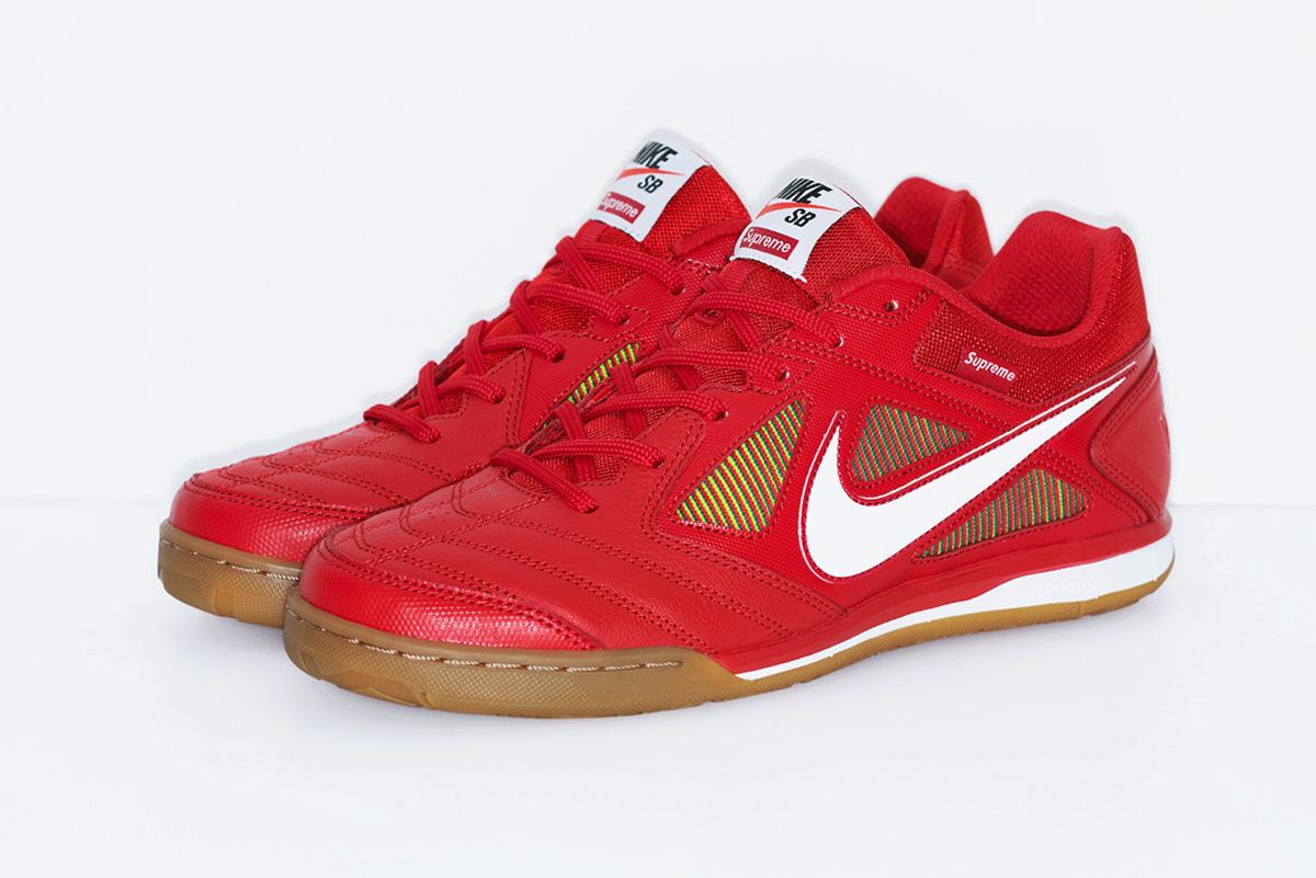 """【9/7発売】SNKRSにて""""Supreme®/Nike SB Gato(ガト)"""" レッド"""