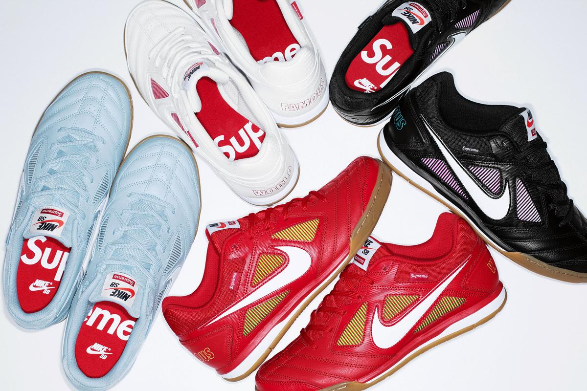 """【9/7発売】SNKRSにて""""Supreme®/Nike SB Gato(ガト)"""""""