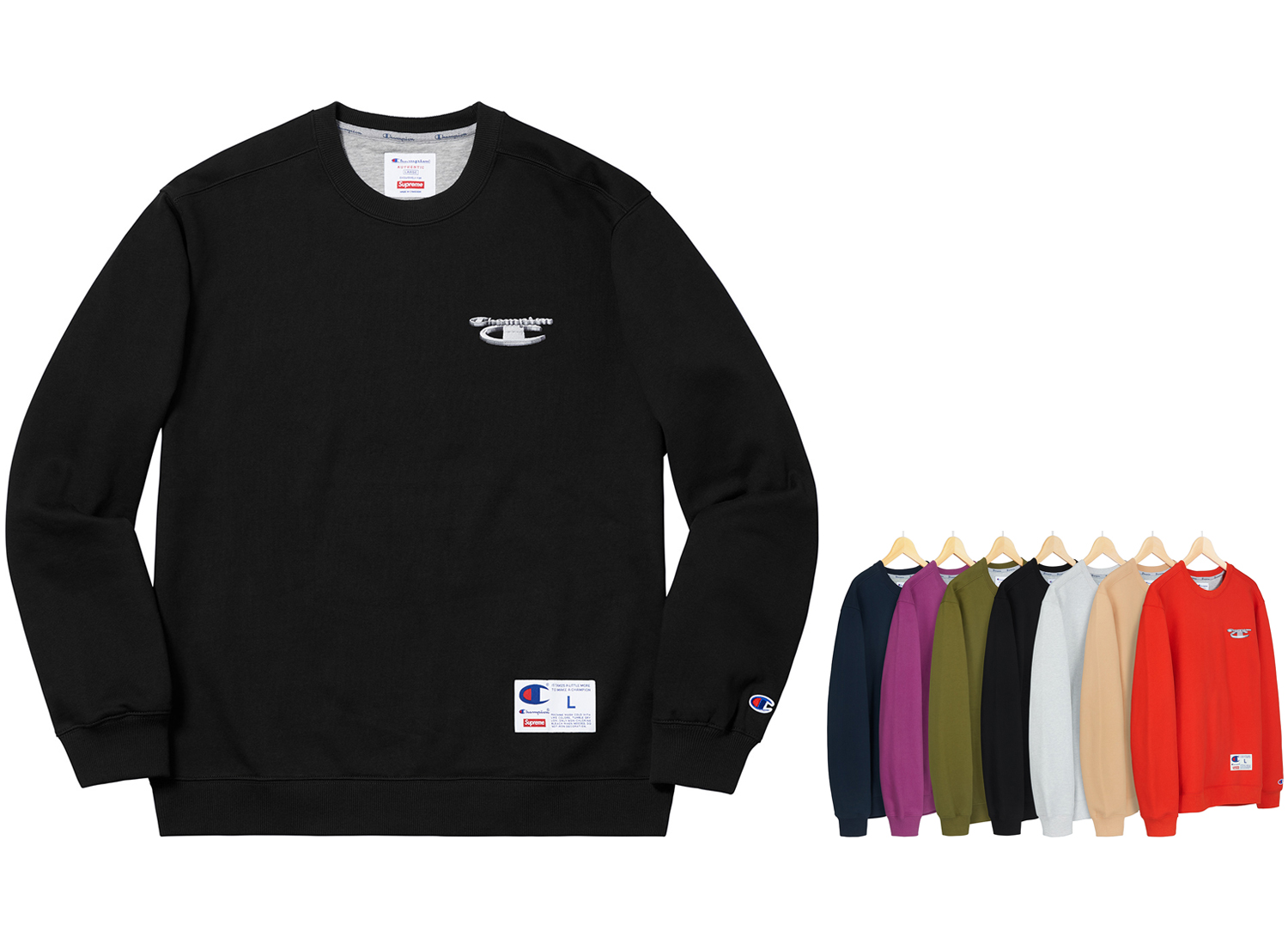 Supreme®/Champion® 3D Metallic Crewneck