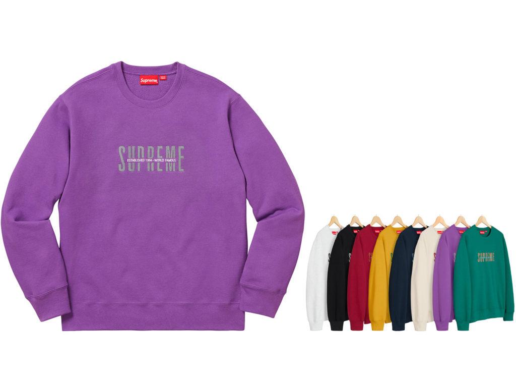 World Famous Crewneck Sweatshirt