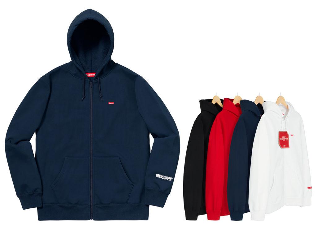 Windstopper® Zip Up Hooded Sweatshirt