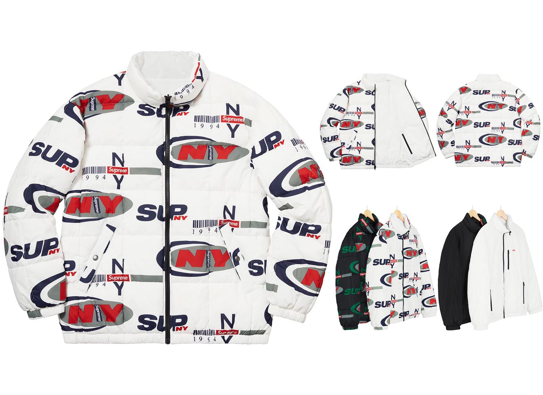 Supreme NY Reversible Puffy Jacket