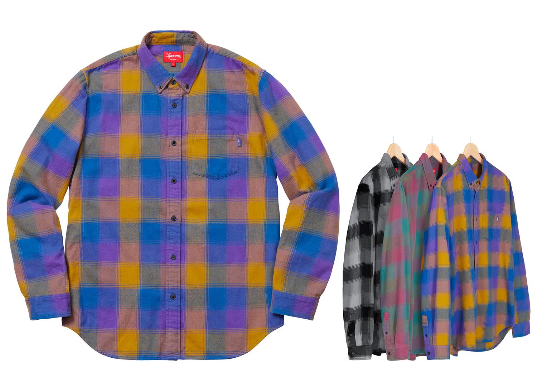 Shadow Plaid Flannel Shirt