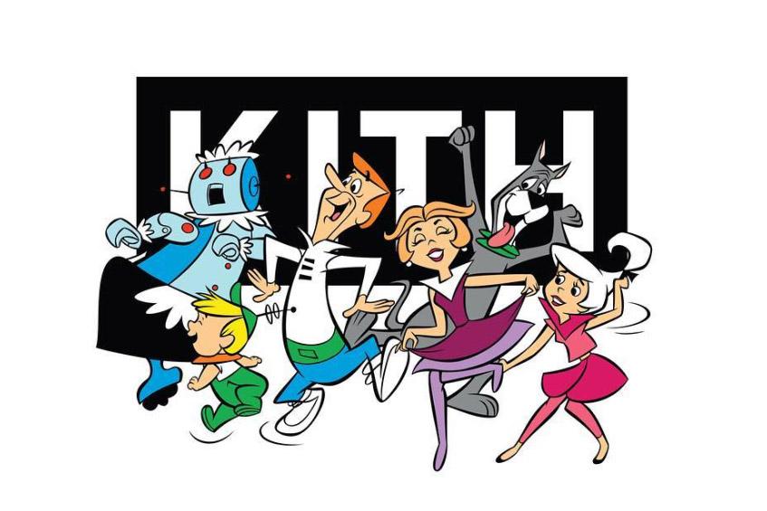 """】KITH MONDAY PROGRAMはアニメ""""The Jetsons""""とのコラボアイテムが発売"""
