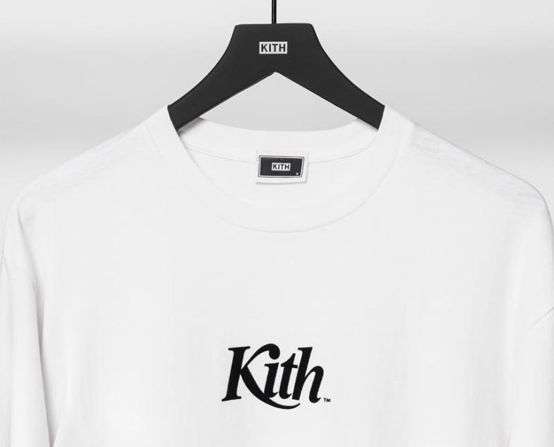 【10/15発売】今週のKITH MONDAY PROGRAMはシンプルなL/S Tシャツ ロゴ