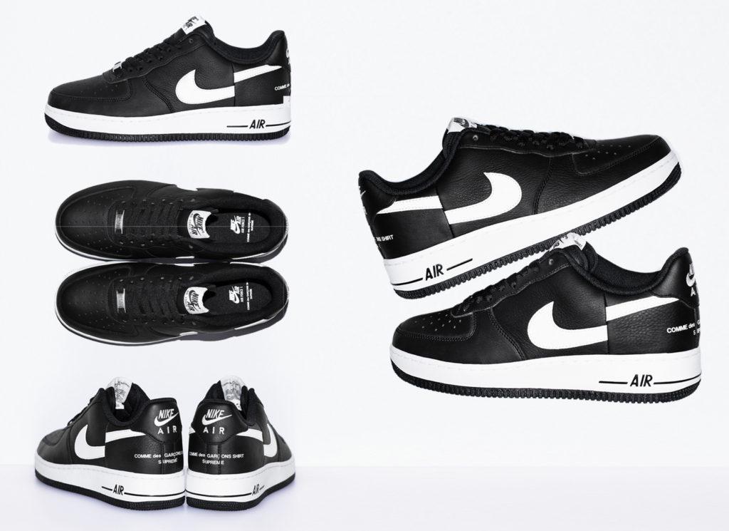 Supreme®/Comme des Garçons SHIRT® Nike Air Force 1 Low
