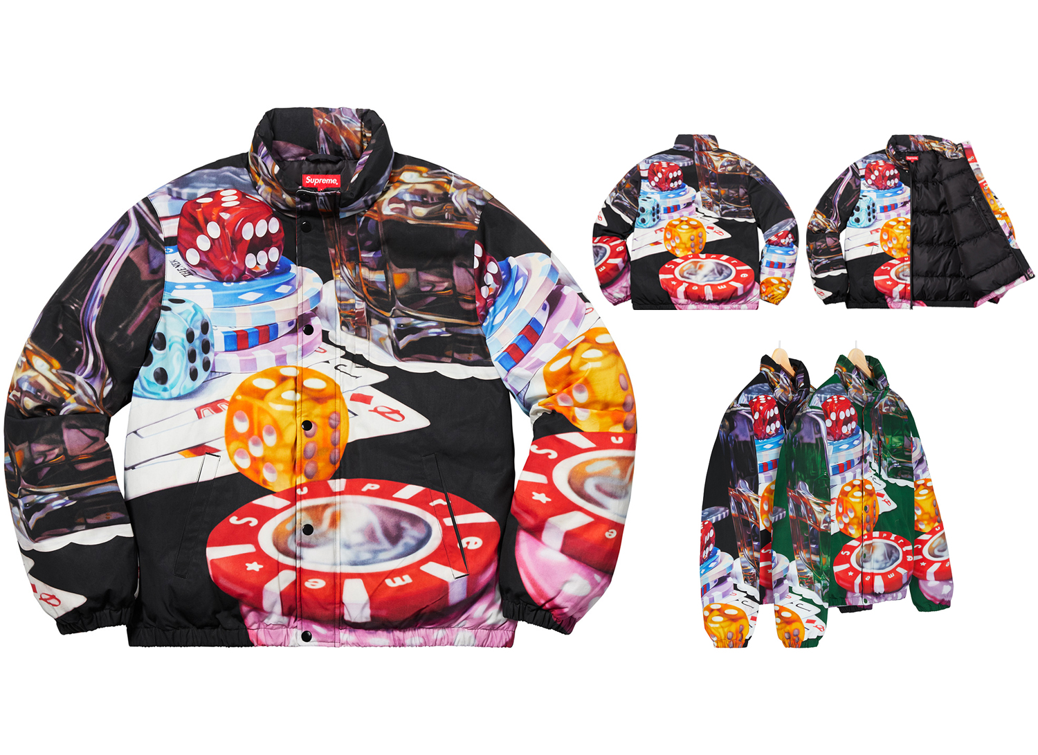Casino Down Jacket