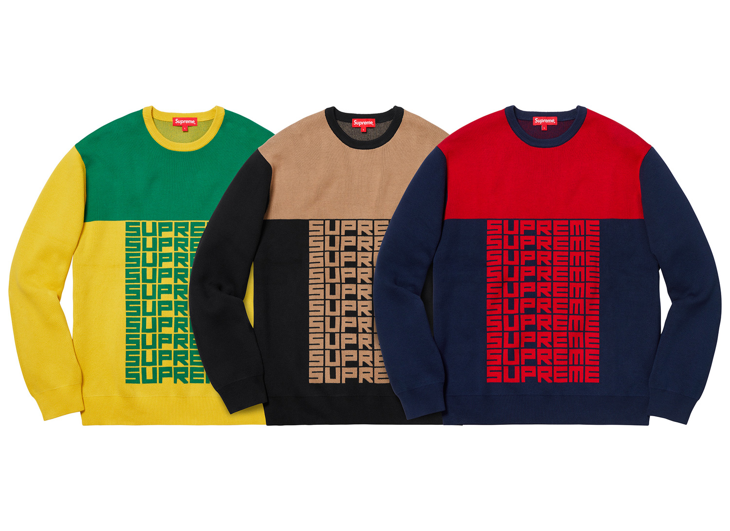 Logo Repeat Sweater