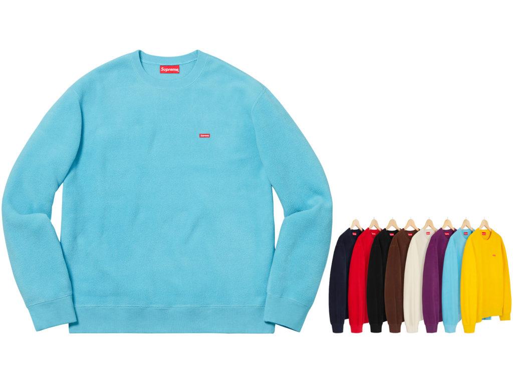 Polartec® Small Box Crewneck Sweatshirt