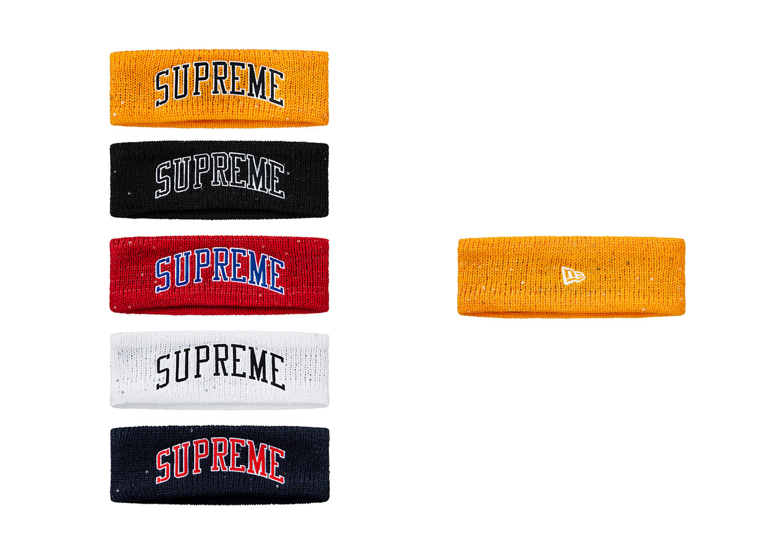 New Era® Sequin Arc Logo Headband