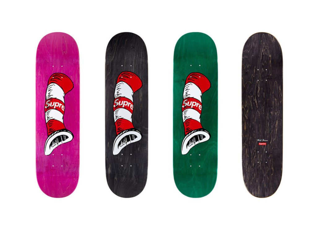 Cat in the Hat Skateboard