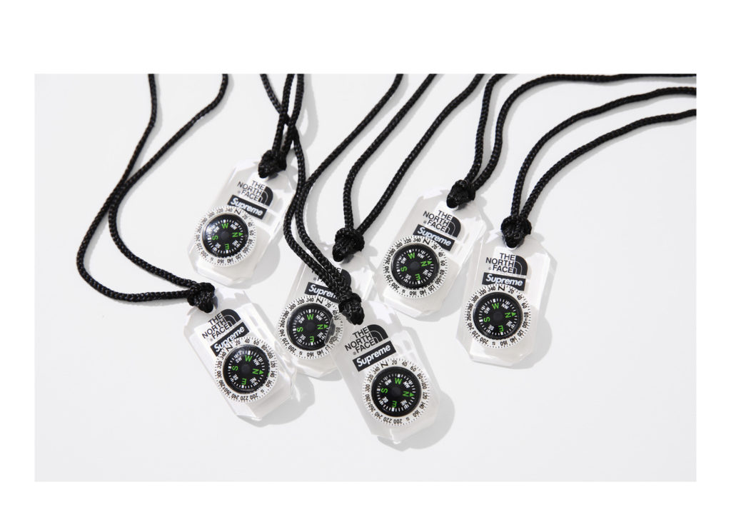Supreme®/The North Face® Compass Necklace
