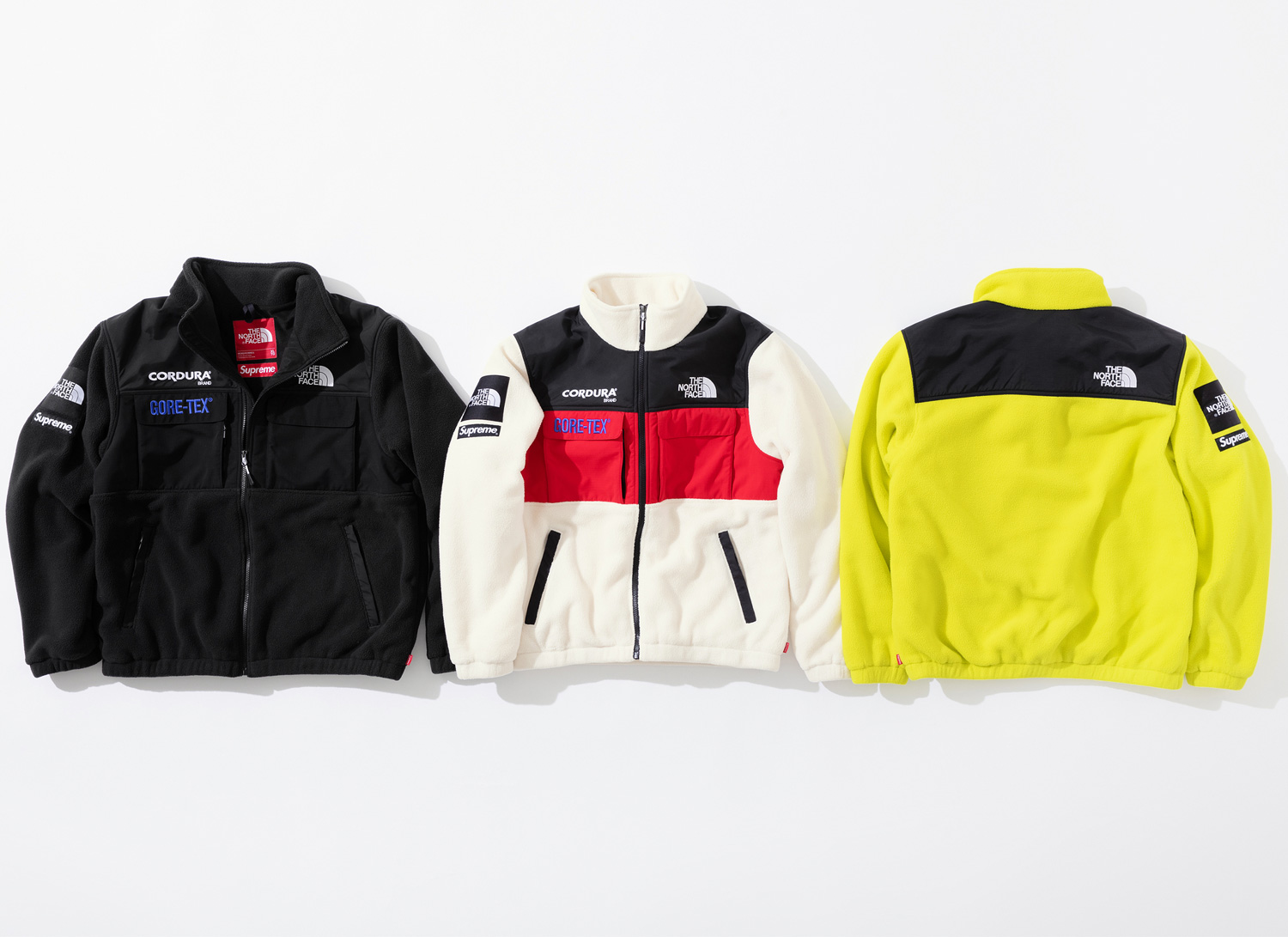 Supreme シュプリーム 18fw 18aw week15 The North Face ノースコラボ Expedition Fleece Jacket