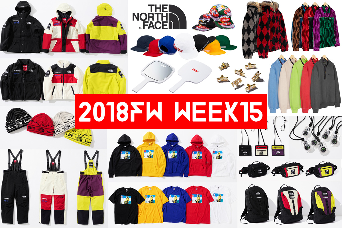 Supreme シュプリーム 18fw 18aw week15 The North Face ノースコラボ