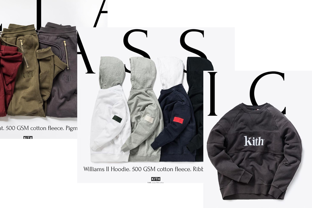 KITH CLASSICS COLLECTION 2018.11/30発売