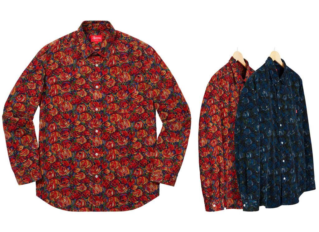 Roses Corduroy Shirt