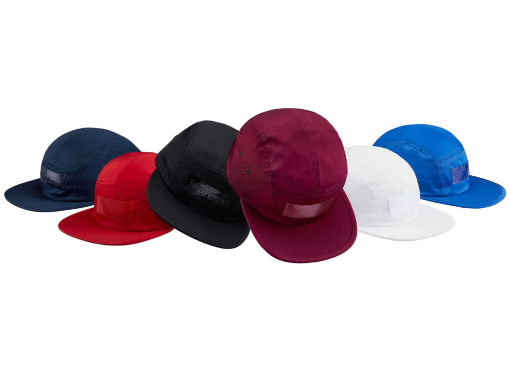 Patent Leather Patch Camp Cap