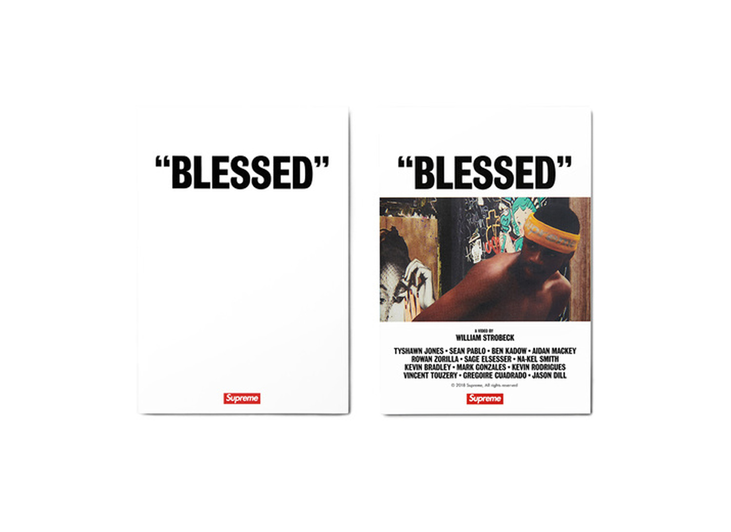 """BLESSED"" DVD"
