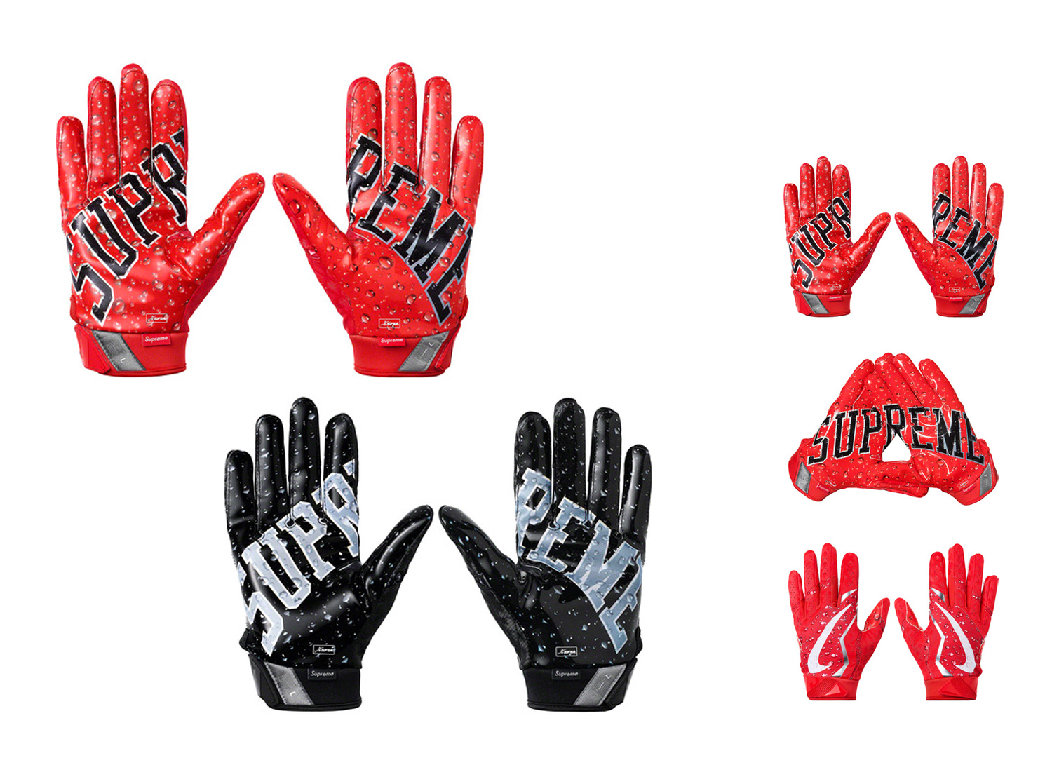 Supreme/Nike Football Gloves