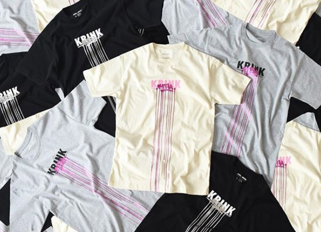 kith monday program 12/3 KRINKコラボ Tシャツ
