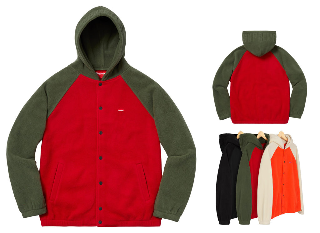 Polartec® Hooded Raglan Jacket