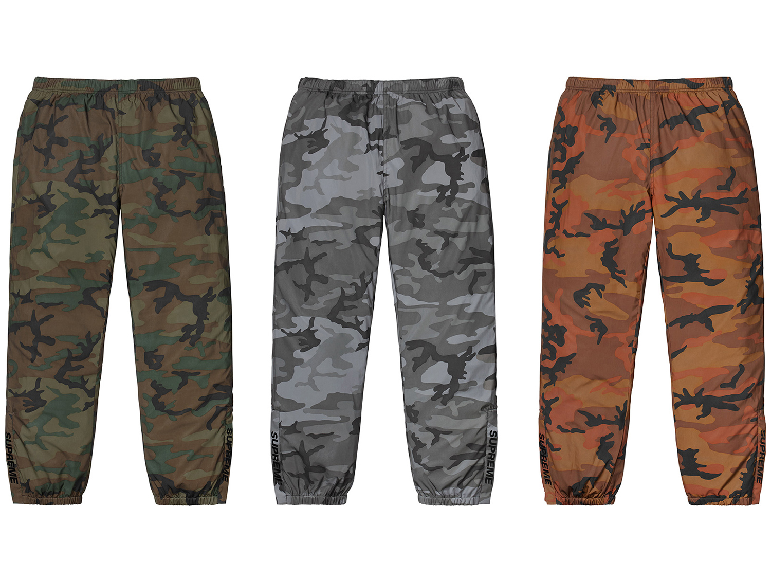 Reflective Camo Warm Up Pant