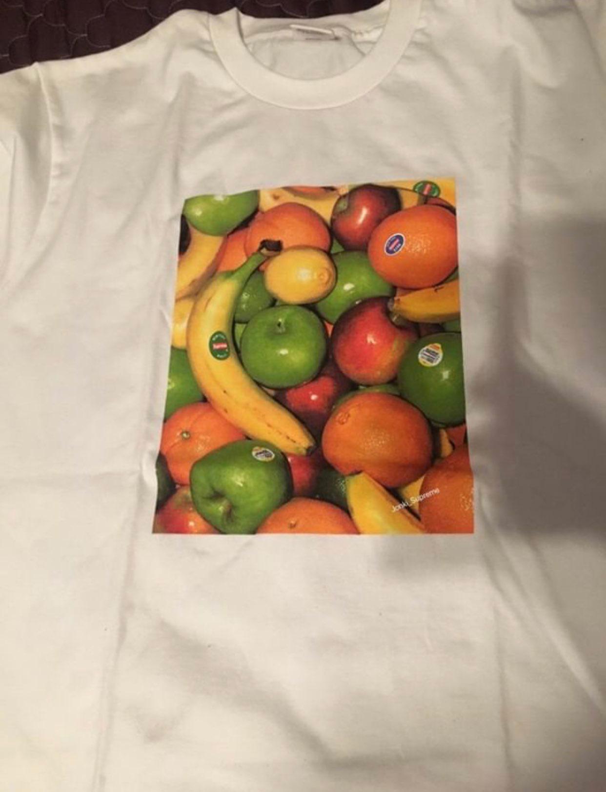 supreme シュプリーム リーク 2019ss 19ss Fruit Tee